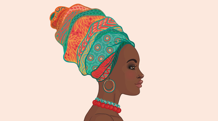 Bad Hair Day? These 10 African Head Wraps Will Save The Day .