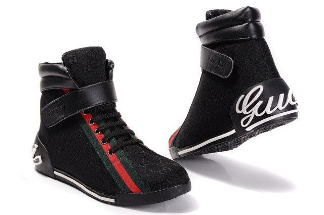 Gucci high-top shoes men-GG15886 | Gucci high tops, Gucci high top .