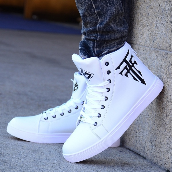 New Men High Top Sneaker Shoes Men Sports Shoes Sneakers .