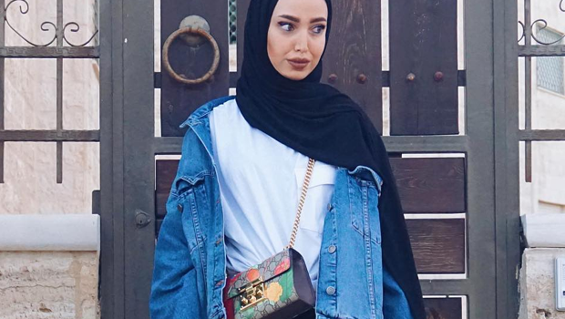 How to Wear Denim Jackets for a Cool Hijab Sty