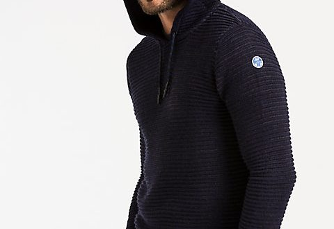 Hooded Sweater | Sweaters & Knits | North Sails Collecti