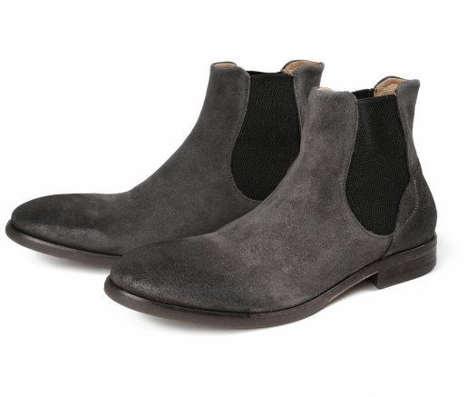 Men's Watchley Suede Grey Chelsea Boot | Hudson shoes | Boots .