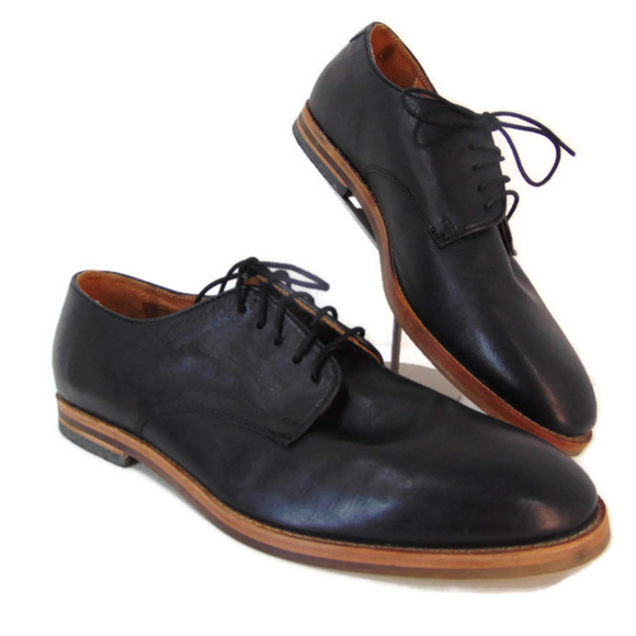 H by Hudson Shoes | H Hudson England Black Derby Eu 46 Us 13 .