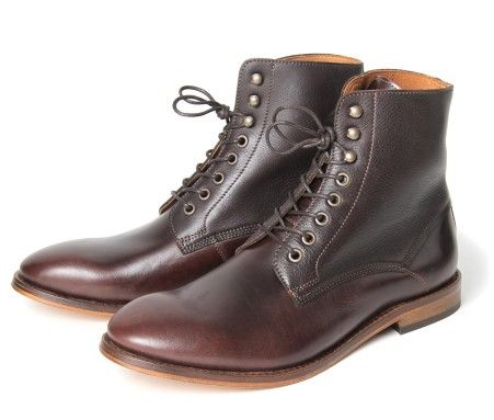 Herman Brown - H by Hudson. #shoes #men #boots | Boots, Hudson .
