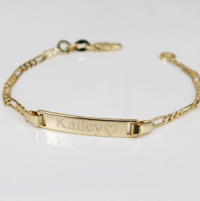 Engraved ID Bracelet - AnnDrew Marie Accessori