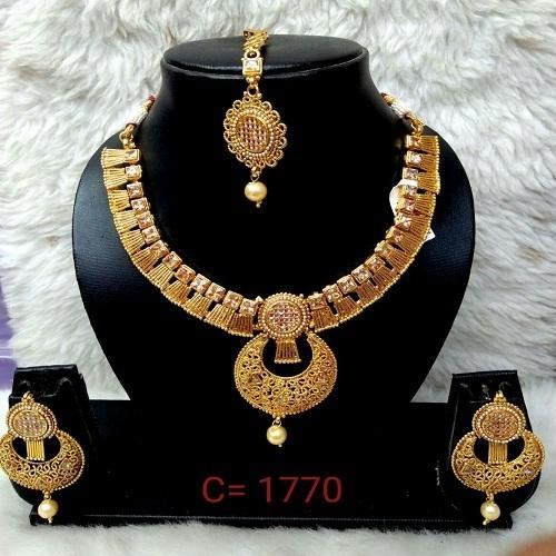 Engagement Copper Indian Imitation Jewellery Set, Rs 770 /piece .