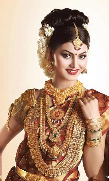 Model in Traditional Jewellery | Traditional indian jewellery .