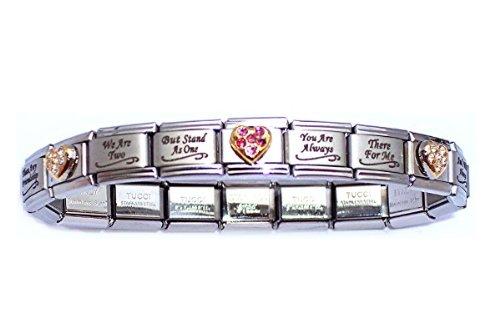 Stylish Italian Bracelet Charm Amazon Com Special Sister Style .