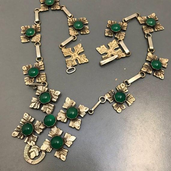Vintage Pendant Necklace . Italy Italian Jewelry | Et