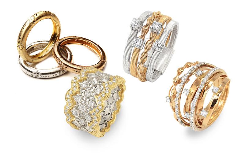 Italian wedding rings - wedding rings - Italian jewelry - Italian .