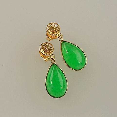 IMPERIAL JADE EARRING 34 | jade-jewel
