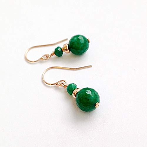 Amazon.com: Jade Earrings 12th Anniversary Gifts for Wife Handmade .