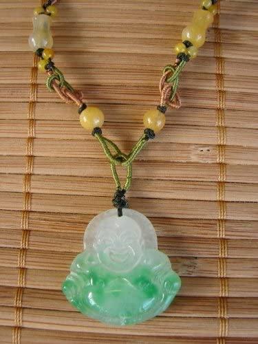 Amazon.com: Jade Buddha Necklace, Buddha Pendant: Everything El