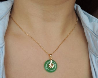 Jade necklace | Et