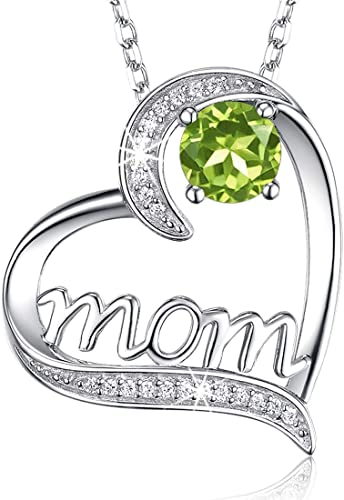 Amazon.com: Birthday Gifts for Mom LC Green Peridot Jewelry for .