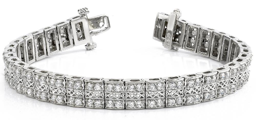 Premier Designer Diamond Jewelry: Classic Diamond Tennis Bracele