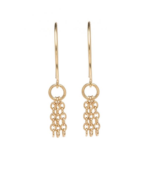 Earrings | Fringe Hoop Earrin