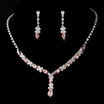 Light Pink Prom Jewelry Set! Visit specialoccasionsforless.com for .