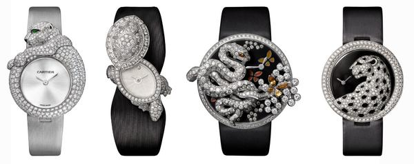 Here's a Rare Opportunity to Own Cartier High Jewelry Watches – CJ .