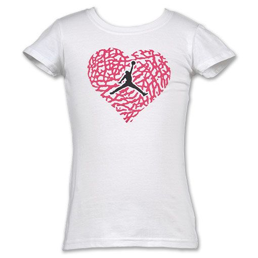 Girls Jordan Shirt - need this in my life! | Jordan shirts .