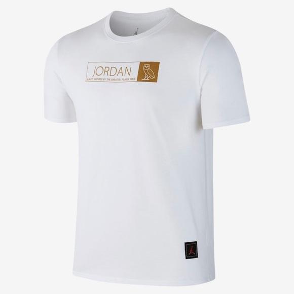 Jordan Shirts   Ovo Drake Tour T Shirt   Poshma