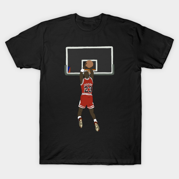 Michael Jordan Game Winner - Michael Jordan - T-Shirt | TeePublic
