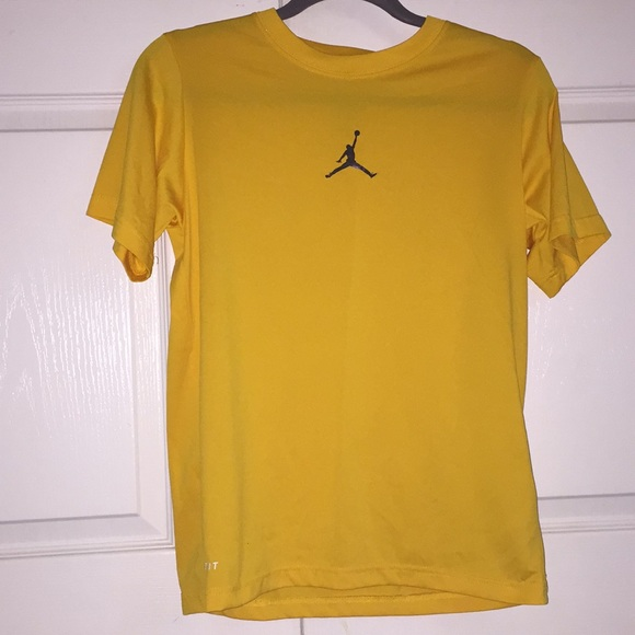 Jordan Shirts & Tops | Yellow Tshirt | Poshma
