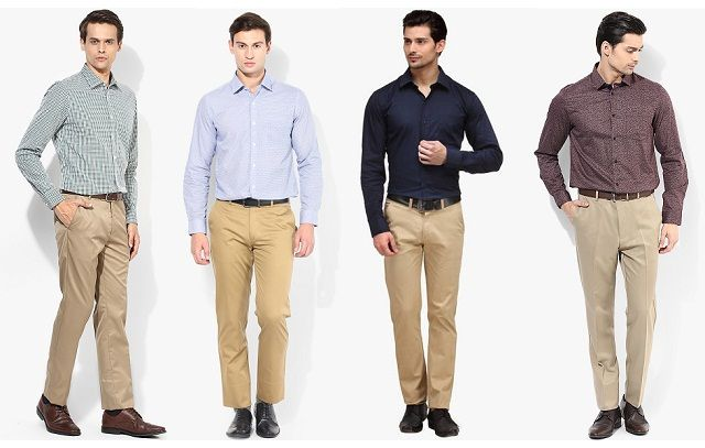 Men's Guide to Perfect Pant Shirt Combination | Pant shirt, Brown .
