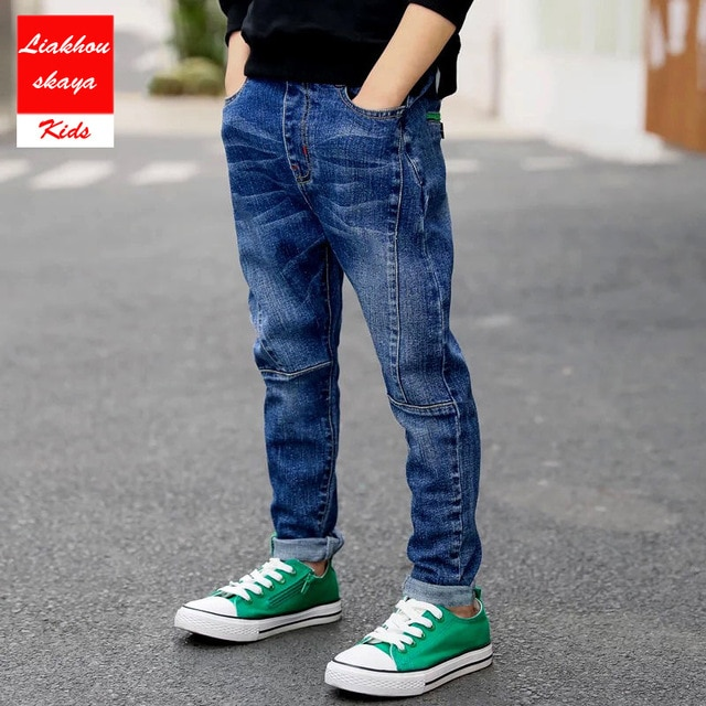 🥇Liakhouskaya 2019 New Fashion Boys Pants Kids Jeans For .