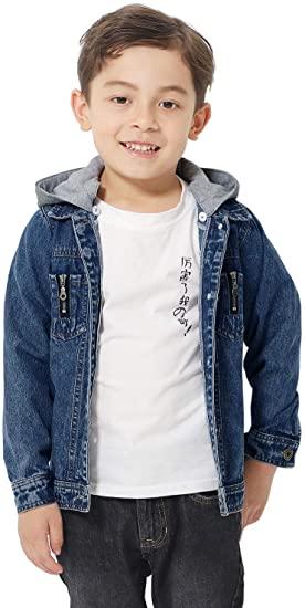 Amazon.com: Artfasion Kids Jean Jacket Boys Girls Basic Denim .