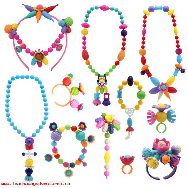 DIY Fashion Jewlery Project Kit for Kids Jewelry Arts & Crafts .