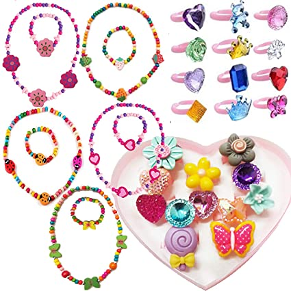 Amazon.com: 7Queen Kids Jewelry - for Little Girls and Toddlers .