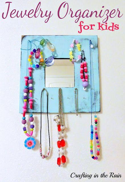 Kids' Jewelry Organizer | Jewelry organization, Craft organization .