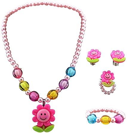 Amazon.com: BESTOYARD Kids Necklace Set Kids Jewelry Sunflower .