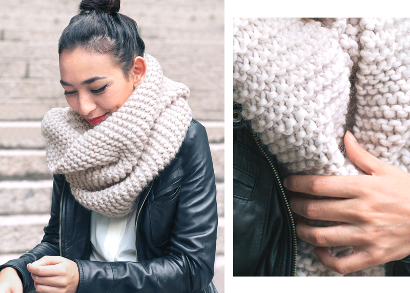 Style Trends: Chunky Knit Scarves - Sheep and Stit