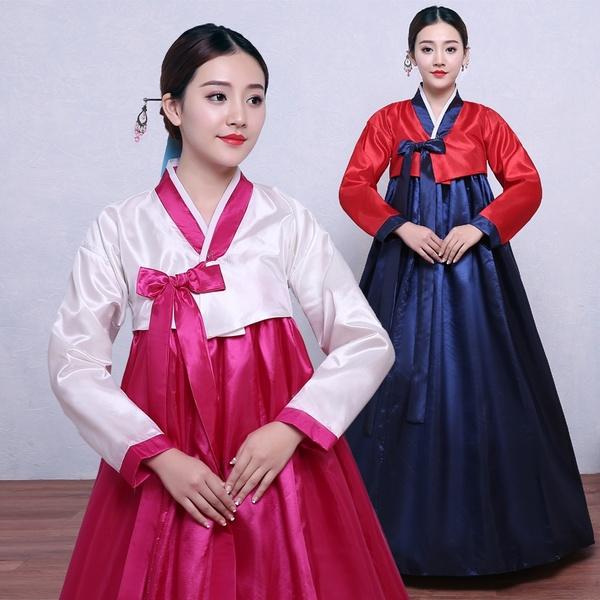 Korean Traditional Dress Korean Hanbok Women Hanbok Dress Korean .