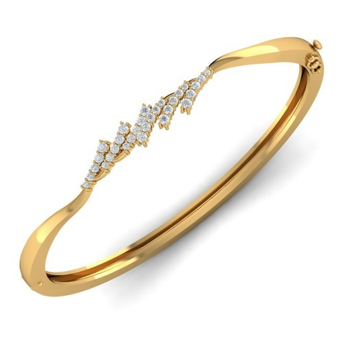 Natural Diamond Ladies Bracelet at Rs 75000 /piece | Diamond .