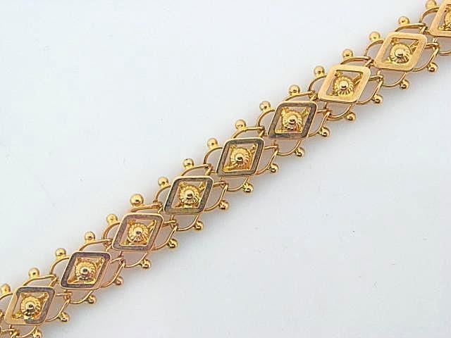 EXAGONOS- 19.2K Portuguese Gold Ladies Bracelet | Columbia .