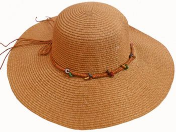 24 Units of Ladies' Hat With Tie - Sun Hats - at - alltimetrading.c