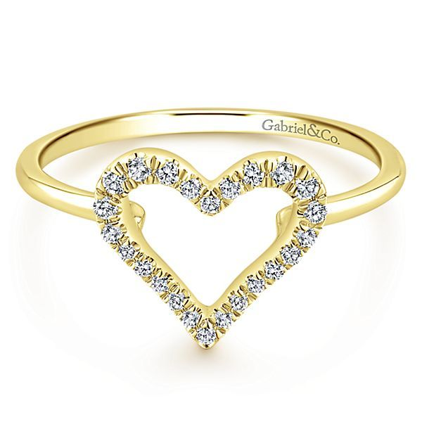 14k Yellow Gold Fashion Ladies Ring | Texas Gold Connection .
