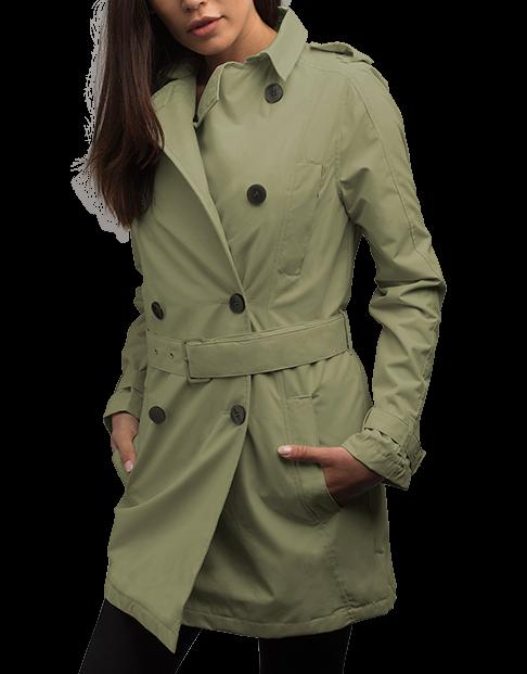 Women's Trench Coat - SCOTTeVE