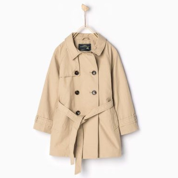 Zara Jackets & Coats | Girls Trench Coat Size 7yrs | Poshma