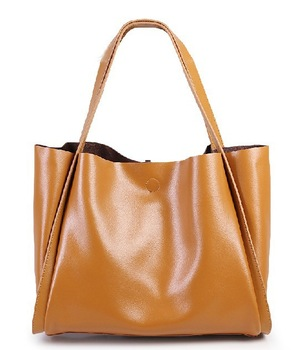 Fashion Brand Leather Ladies Handbag,Girl Luxury Genuine Leather .