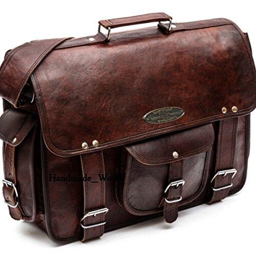Handmade World Bags: Handmade_world Leather Messenger Bags for Men .
