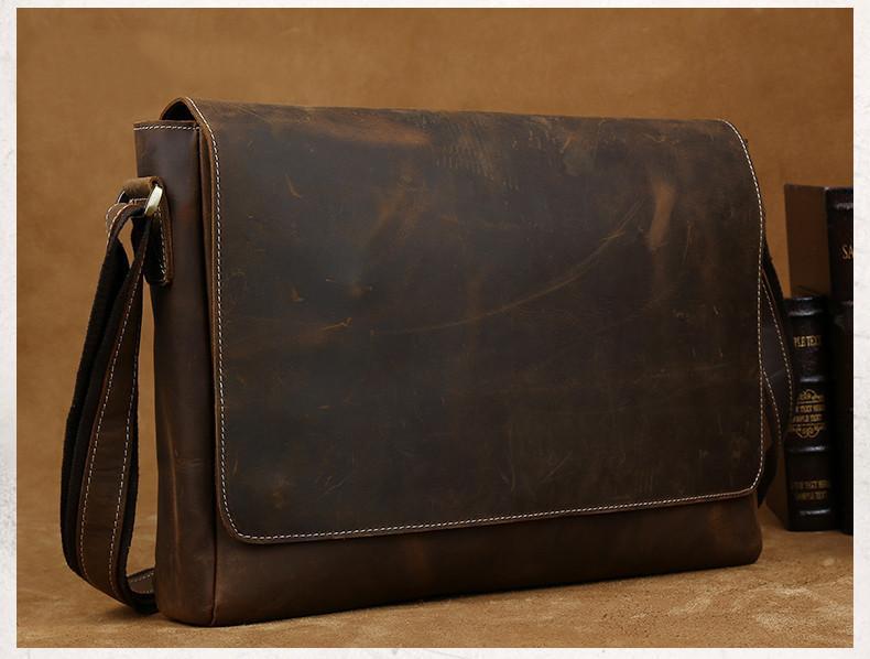 Men Leather Shoulder Bags | High On Leath