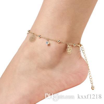 2020 Hot Sale Anklet Women Foot Bracelet Brand Beach Fashon Leg .