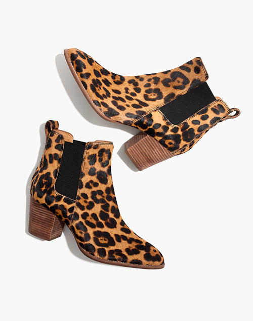 The Regan Boot in Leopard Calf Ha