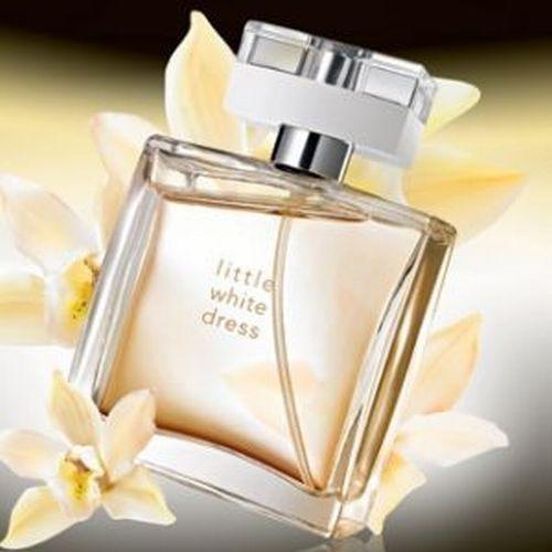 AVON: Little White Dress | Little white dresses, Perfume .