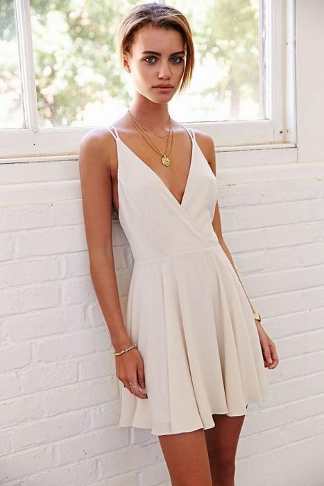 Glam Sugar | Little White Dress