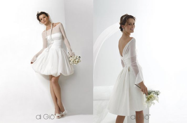 Little White Wedding Dresses from Spose di G